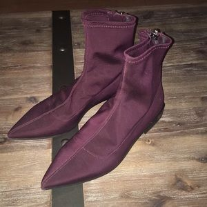 Zara flat booties